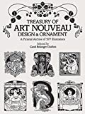 Treasury of Art Nouveau Design and Ornament: A Pictorial Archive of 577 Illustrations