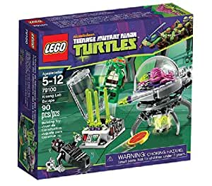 LEGO Teenage Mutant Ninja Turtles - 79100 - Jeu de Construction - L' évasion du Laboratoire de Kraang