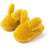 FRAUIT Pantofole Peluche Bambino Animali Coniglio Ciabatte Bambino Asilo Invernali Inverno Ragazzi Ragazze Scarpe di…