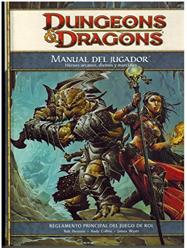 DANGEONS & DRAGONS ROL: MANUAL DEL JUGADOR