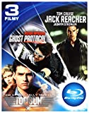 Top Gun / Mission Impossible 4 - Ghost Protocol / Jack Reacher [BOX] [3Blu-Ray] (Nessuna versione italiana)