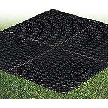 Goma Estera de césped 1,2m x 80cm alfombra de suelo Seguridad Parque infantil jardín