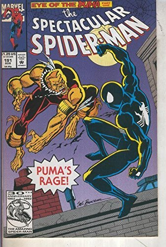 The Spectacular Spider Man volumen 1 numero 191 (1992)