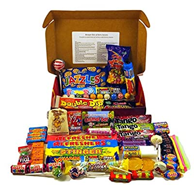 A Quarter Of Already Wrapped Bumper Retro Sweets Selection Box