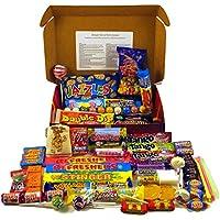 A Quarter Of Already Wrapped Bumper Retro Sweets Selection Box, 730g