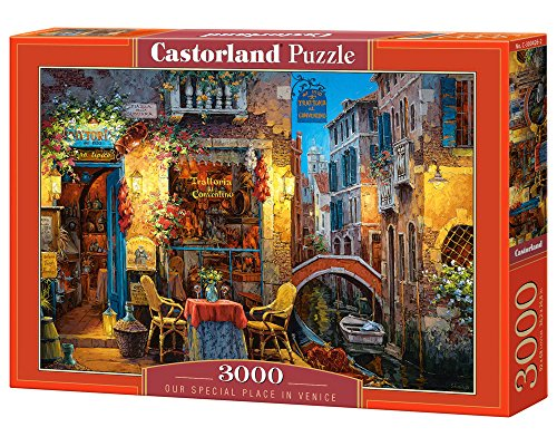 Castorland C300426 Our Special Place in Venice Jigsaw Puzzle (3000-piece)