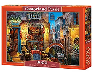 Castorland Our Special Place in Venice 3000 pcs Puzzle - Rompecabezas (Puzzle Rompecabezas, Ciudad, Niños y Adultos, Niño/niña, 9 año(s), Interior)