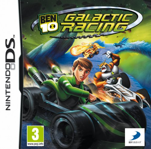 Ben 10: Galactic Racing (Nintendo DS) [UK IMPORT] (10 Pc Ben)