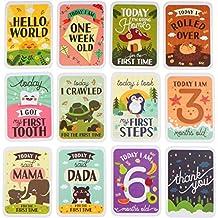 ENGLISH - Carte Milestone Bambino