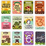 ENGLISH Milestone Card Baby Geschenkset Andenken