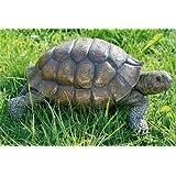 Animal tortue en brun résine ca. 34 cm L