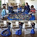 150cm Kids Portable Play Mat Toys Storage Bag Organizer Rug Box For Lego Doll UK