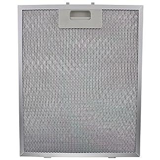 CATA / Designair Filtro de campana, para la grasa, de metal, color plateado, 320x 260mm