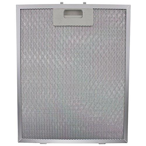 Spares2go de grasa filtro para campana de cocina Turboair (Elica) (plata, 320...