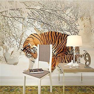 Fototapete Tiger Wohnzimmer Schlafzimmer TV Wandbild Der Wand Wandbild Tapete, 3XL(14'7