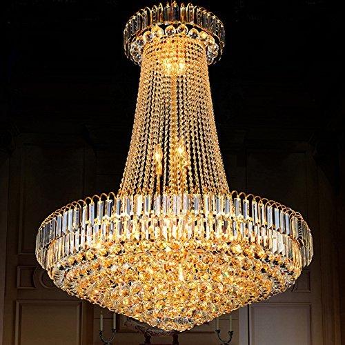 Led-Beleuchtung Umläufe von Crystal, Duplex Lounge Treppen zum Hotel Restaurant Villa Engineering Innenbeleuchtung leuchten (Größe: 6 liegt auf der Hand,/40 * 50 cm).