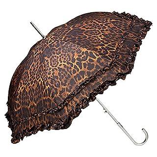 VON LILIENFELD umbrella stick-umbrella auto-open automatic women fashion design bridal wedding Mary Leopard