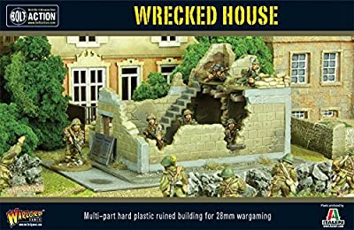 Wrecked House Miniature Box Set by Bolt Action