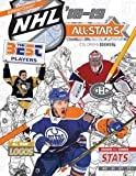 NHL All Stars 2018-19: The Ultimate Hockey Coloring Book for Adults and Kids (All Star Sports Coloring, Band 6)