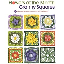 Flowers of the Month Granny Squares: 12 Squares and Instructions for a Blanket by Margaret Hubert (2014-12-15)