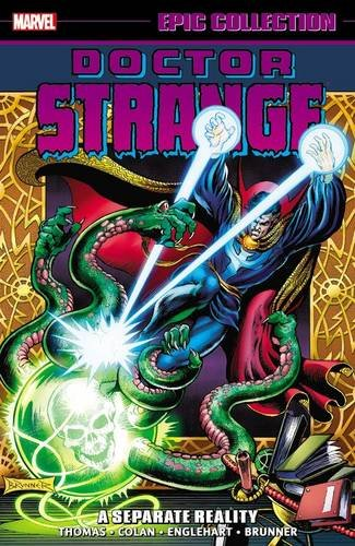 Doctor Strange Epic Collection: A Separate Reality (Epic Collection: Doctor Strange) por Steve Englehart
