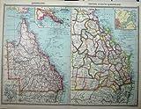 Telecharger Livres CARTE c1880 QUEENSLAND AUSTRALIE BRISBANE LES ANGLAIS GUINEE (PDF,EPUB,MOBI) gratuits en Francaise