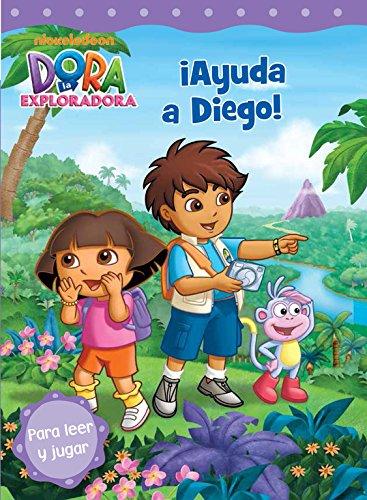 ¡Ayuda a Diego! (Dora la exploradora. Pictogramas) por Nickelodeon Nickelodeon