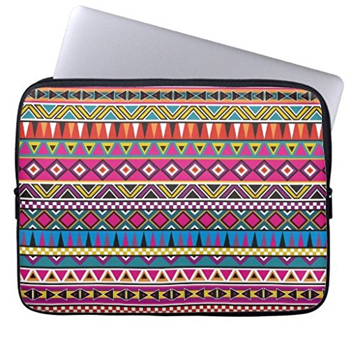 11.6-12 Inch Laptop Case for Men Unique Geometric Aztec Inspired Pattern Notebook Computer Case Bag Cover for Dell/ Hp/Lenovo/sony/Toshiba/ Ausa/Acer/Samsung/Haier Ultrabook Bag Cover (Acer-laptop-tasche Aztec)
