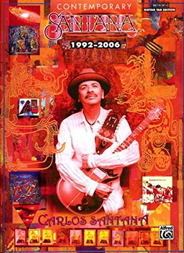 Santana Contemporary 1992-2006 Guitar Tab