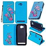 Cover per Huawei Y3 II / Y3 2 , Custodia per Huawei Y3 II / Y3 2 ,Leather Case Cover Custodia per Huawei Y3 II / Y3 2 ,Cozy hut Caso / copertura / telefono / involucro Tacchi alti Disegno retro della del modello PU con a Bookstyle tasche carte di credito funzione con interno morbido in TPU Portafoglio Supporto Slot Schede Protettiva Bumper Caso, Leather Case Cover Custodia per Huawei Y3 II / Y3 2 - Tacchi alti blu