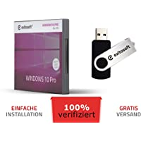 Windows 10 Professional Aktivierungsschlüssel - mit USB-Stick von EXITOSOFT - 32/64Bit - Deutsch - 100% verifiziert…