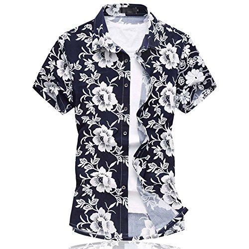 camicia-hawaiana-da-uomo-stile-floreale-a-maniche-corte-per-mare-vacanze-662white-x-large