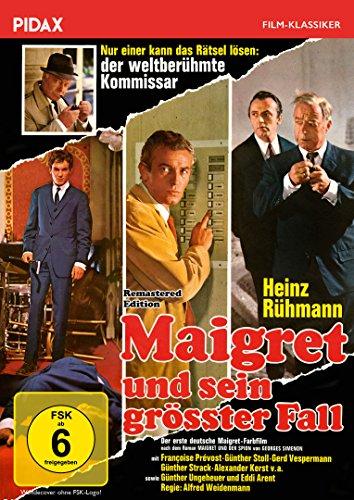 Maigret und sein größter Fall - Remastered Edition / Erfolgreiche Verfilmung des Romans MAIGRET UND DER SPION mit Heinz Rühmann (Pidax Film-Klassiker)