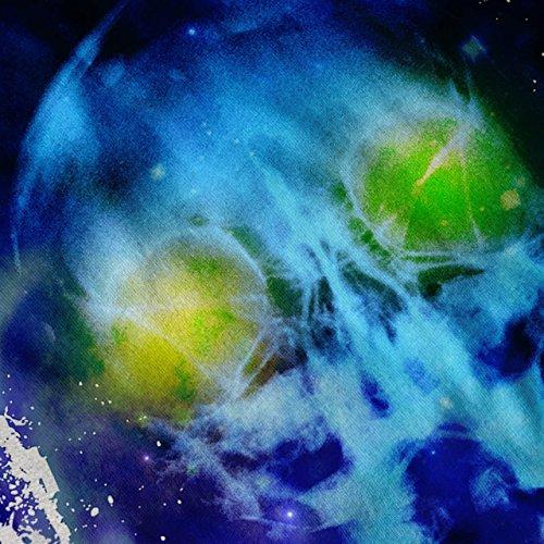 Schädel UFO Ausländer Fantasie übernatürlich Damen S-2XL Muskelshirt | Wellcoda Grau