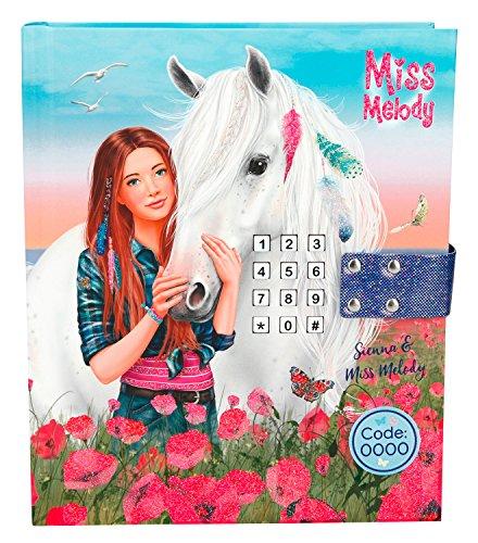 Depesche 8785 - Tagebuch Miss Melody mit Code und Sound, Blau (Mädchen Mit Tagebuch Schloss)