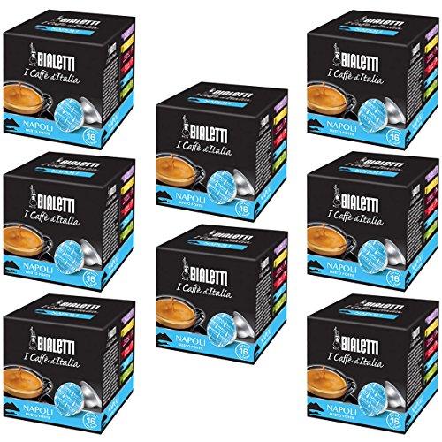 Bialetti Capsule Napoli - Set 8 confezioni da 16 capsule