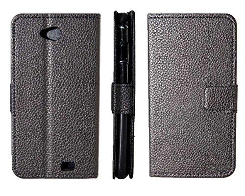 caseroxx Tasche Case Hülle Bookstyle-Case für Archos 50C Platinum in schwarz