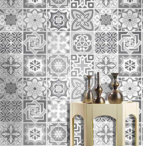 12 Grey Self Adhesive Tile Stick...