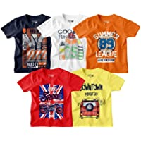 Bon Organik Boy's Regular T-Shirt