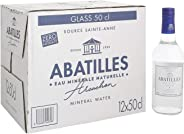 Abatilles Natural Mineral Water in Glass Bottle - 500 ml (Pack of 12)