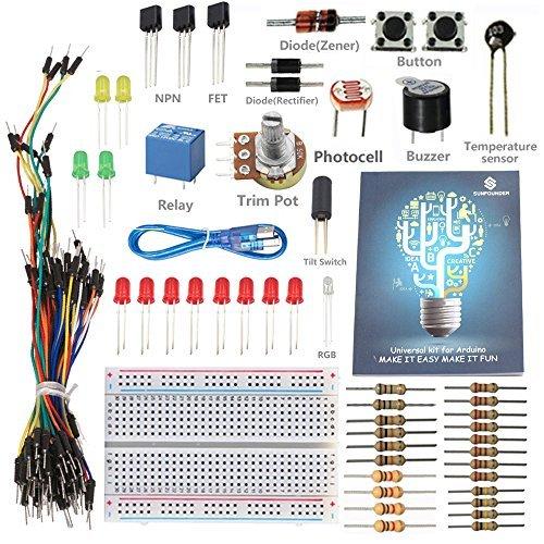 sunfounder-getting-started-kit-with-tutorial-for-arduino-starter-beginner