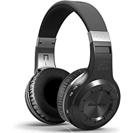 Bluedio HT shooting Brake  Wireless Bluetooth 4.1 Stereo Headphones  Black