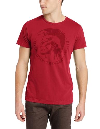 diesel-t-shirt-graphique-col-ras-du-cou-manches-courtes-homme-small