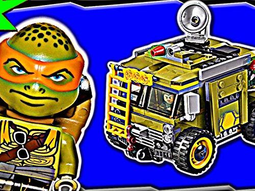 Clip: Turtle Van Takedown (Turtle Ninja Vans)