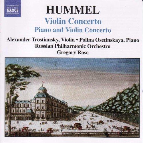 Hummel: Concerto for Piano and Violin, Op. 17 / Violin Concerto
