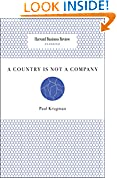 #9: A Country is Not a Company (Harvard Business Review Classics)