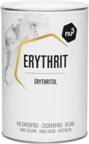 nu3 Premium Erythrit - Erythritol Zuckerersatz 750g - keine Kalorien & keinen Einfluss auf den Blutzuckerspiegel - zahnfreund