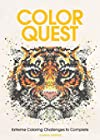 Color Quest Adult Coloring Book - Extreme Coloring Challenges to Complete