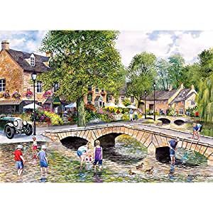 Gibsons - Bourton on the Water - Jigsaw Puzzle - 1000 Pieces