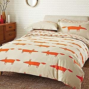 scion bettw sche set mr fox doppelbett naturfarben k che haushalt. Black Bedroom Furniture Sets. Home Design Ideas